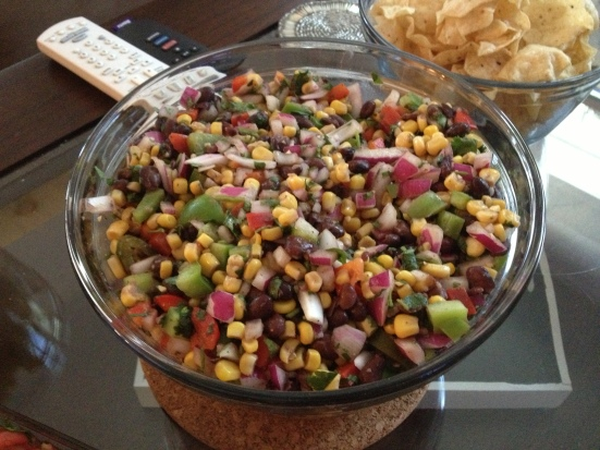 Corn & BB Salsa