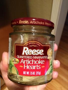 Reese Marinated Artichoke Hearts