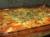 Smoked Salmon Egg Casserole with Potatoes &Dill