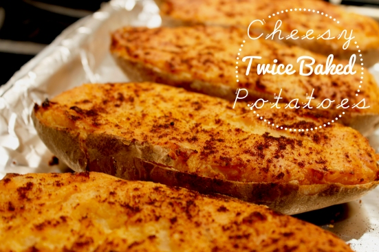 Twice Baked Potatoes | Hugs 'n Kitchen