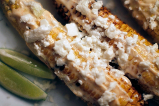 Mexican Grilled Corn | Hugs 'n Kitchen